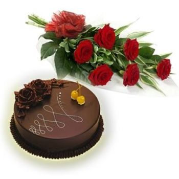 Surat online Florist - Tempting Love Bouquet