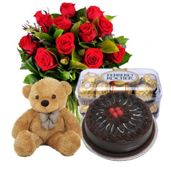 India online Florist - In Total Love Bouquet