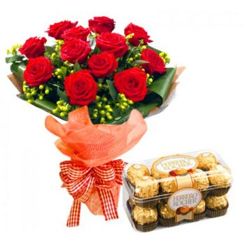 Hyderabad online Florist - Richly Deserved Bouquet