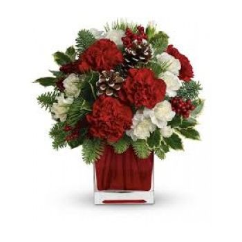 Trinidad online Florist - Christmas Cheer Bouquet