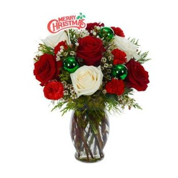 Trinidad flowers  -  Christmas Classic Flower Delivery