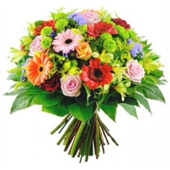 St. Maarten flowers  -  Magic Flower Bouquet/Arrangement