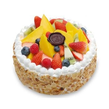 China flowers  -  Fruit Cake  Flower Delivery