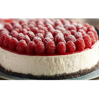 Hong Kong blomster- Raspberry Cheesecake  Blomst Levering
