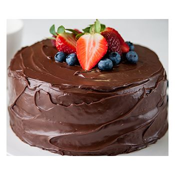 Hong Kong blomster- Chocolate Fudge Cake  Blomst Levering