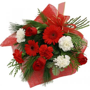 Malaga flowers  -  Red Beauty Flower Bouquet/Arrangement