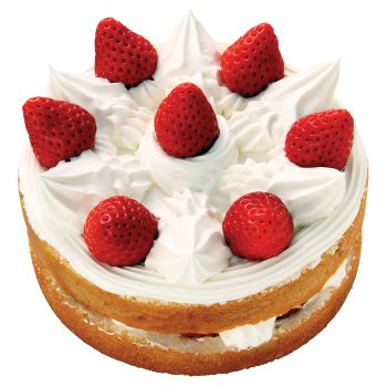 Sharjah Online blomsterbutikk - Strawberry Cake Bukett