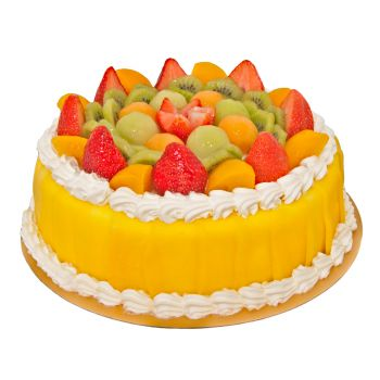 Dubai flowers  -  Mixed Fruit Cake Flower Delivery