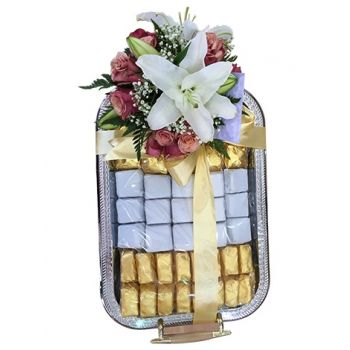 Bahrain online Florist - Tray of Delights Bouquet
