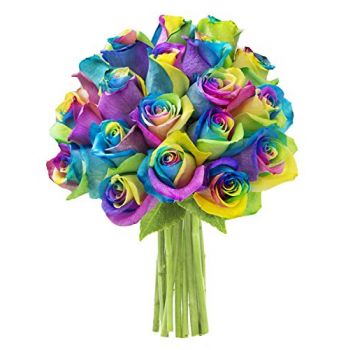 Moscow flowers  -  Rainbow Beauty Flower Delivery