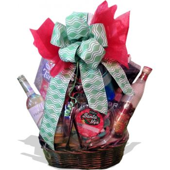 St. Maarten flowers  -  Christmas Hamper Flower Delivery