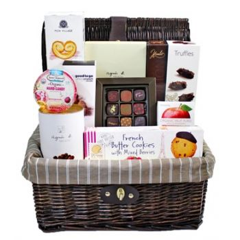 Hong Kong online Florist - Sweet Hamper Bouquet